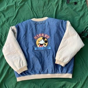 Vintage Mickey Mouse varsity jacket
